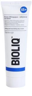 Bioliq 55+ θρεπτική κρέμα με ανυψωτική επίδραση για έντονη αποκατάσταση και σύσφιξη επιδερμίδας