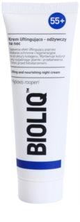 Bioliq 55+ нічний інтенсивний крем для регенерації та відновлення шкіри