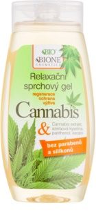 Bione Cosmetics Cannabis Soothing Shower Gel