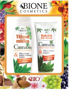 Bione Cosmetics Cannabis Cosmetic Set I.