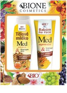 Bione Cosmetics Honey + Q10 kozmetični set I.
