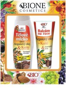 Bione Cosmetics Argan Oil + Karité kozmetični set I.