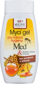 Bione Cosmetics Honey + Q10 гел за интимна хигиена с пчелно млечице