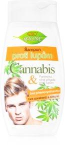 Bione Cosmetics Cannabis šampon proti lupům pro muže