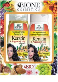 Bione Cosmetics Keratin Argan lote cosmético I.
