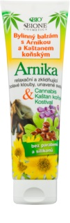 Bione Cosmetics Cannabis Herbal Balm with Arnica and Horse Chestnut