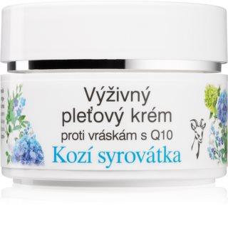 Bione Cosmetics Kozí Syrovátka Gesichtscreme gegen Falten mit dem Coenzym Q10