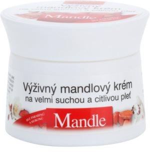 Bione Cosmetics Almonds поживний крем для дуже сухої та чутливої шкіри