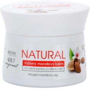 Bione Cosmetics Almonds Extra Voedende Crème  voor Zeer Droge en Gevoelige Huid