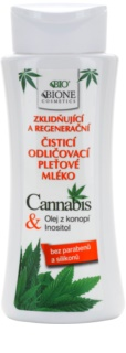 Bione Cosmetics Cannabis beruhigende Reinigungsmilch