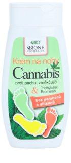 Bione Cosmetics Cannabis změkčující krém na nohy