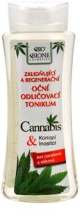 Bione Cosmetics Cannabis upokojujúci odličovač očí