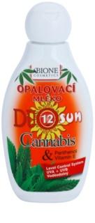 Bione Cosmetics DUO SUN Cannabis napozótej SPF 12