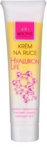 Bione Cosmetics Hyaluron Life crema de maini efect regenerator