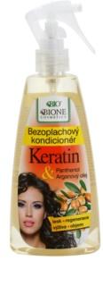 Bione Cosmetics Keratin Argan bezoplachový kondicionér ve spreji
