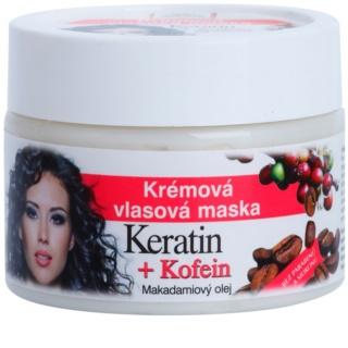 Bione Cosmetics Keratin Kofein krémes maszk hajra hajra