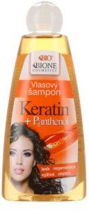 Bione Cosmetics Keratin Panthenol vlasový šampon