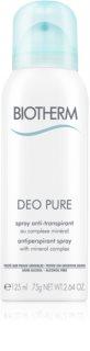 Biotherm Deo Pure antitranspirante en spray
