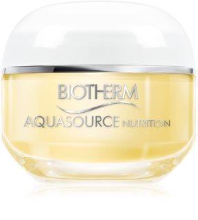 Biotherm Aquasource Nutrition crema hidratante para pieles muy secas