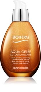 Biotherm Aqua-Gelée Autobronzante samoopalovací sérum na obličej