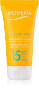 Biotherm Crème Solaire Anti-Âge krema proti gubam za sončenje SPF 15