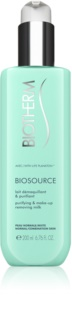 Biotherm Biosource Reinigende en Make-up Removing Melk  voor Normale tot Gemengde Huid