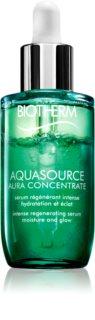 Biotherm Aquasource Aura Concentrate Ser regenerator și hidratant