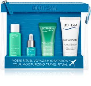 Biotherm Aquasource potovalni set za kozmetiko za ženske