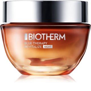 Biotherm Blue Therapy Amber Algae Revitalize noční obnovující krém