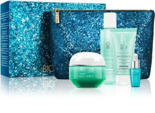 Biotherm Aquasource potovalni set za kozmetiko (za dehidrirano kožo)