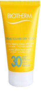 Biotherm Créme Solaire Dry Touch matirajoča krema za sončenje za obraz SPF 30