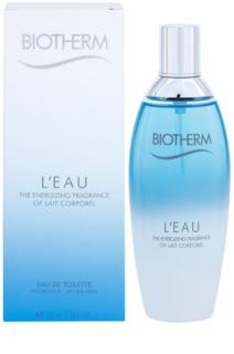 Biotherm L'eau Eau de Toilette für Damen 100 ml