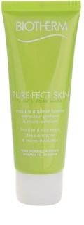Biotherm PureFect Skin очищаюча маска 2в1