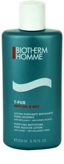 Biotherm Homme T-Pur Anti Oil & Wet pleťová voda pre mastnú a problematickú pleť