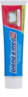 Blend-a-med Anti-Cavity Herbal Collection pasta de dientes para prevenir caries