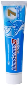 Blend-a-med Complete 7 + Mouthwash Extra Fresh pasta do zębów i plyn do płukania jamy ustnej 2w1 kompletna ochrona zębów