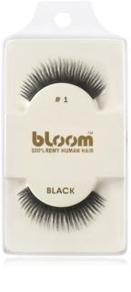 Bloom Natural pestañas postizas fabricadas con cabello natural