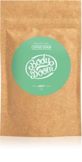 BodyBoom Mint esfoliante corporal de café
