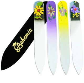 Bohemia Crystal Painted Nail File Small Nail File lime à ongles