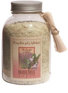 Bohemia Gifts & Cosmetics Bohemia Natur povzbudzujúca kúpeľová soľ so šalviou