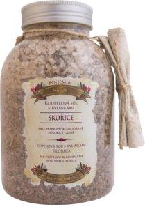 Bohemia Gifts & Cosmetics Bohemia Natur kúpeľová soľ s bylinkami pre uvoľnenie vnútorného napätia