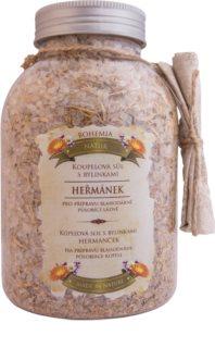 Bohemia Gifts & Cosmetics Bohemia Natur άλατα μπάνιου με τρία είδη βότανα