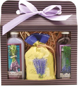 Bohemia Gifts & Cosmetics Lavender Cosmetic Set I.