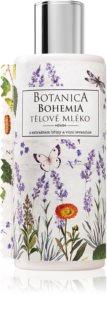 Bohemia Gifts & Cosmetics Botanica tělové mléko s vůní levandule