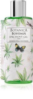 Bohemia Gifts & Cosmetics Botanica gel de duche com óleo de cannabis