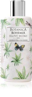 Bohemia Gifts & Cosmetics Botanica lapte de corp cu ulei de canepa
