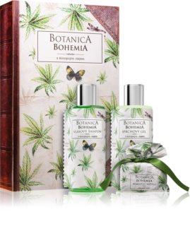 Bohemia Gifts & Cosmetics Botanica set cadou cu ulei de canepa