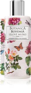 Bohemia Gifts & Cosmetics Botanica tělové mléko s výtažkem ze šípkové růže