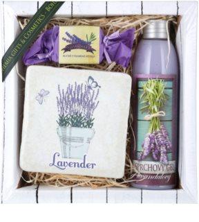 Bohemia Gifts & Cosmetics Lavender kozmetická sada VI.