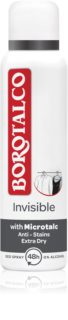 Borotalco Invisible déodorant en spray anti-transpiration excessive